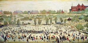 Peel Park, Salford by Laurence Stephen Lowry