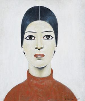 Portrait Of Ann, 1957 by Laurence Stephen Lowry