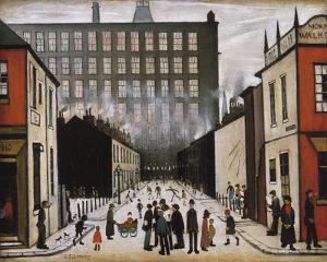 Street Scene (Pendlebury) by Laurence Stephen Lowry