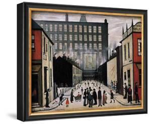 Street Scene by Laurence Stephen Lowry