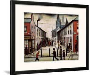 The Fever Van by Laurence Stephen Lowry