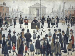 The Prayer Meeting by Laurence Stephen Lowry