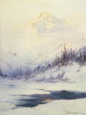 Winter Morning, Mount Mckinley, Alaska by Laurence Sydney