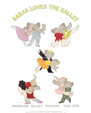 Babar Loves The Ballet by Laurent de Brunhoff