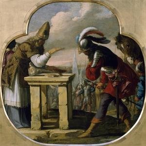 Abraham and Melchizedek by Laurent de La Hyre