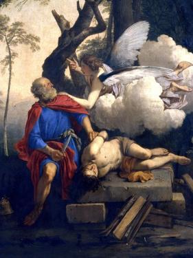 Abraham's Sacrifice, 17th Century by Laurent de La Hyre