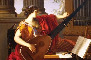 Allegory of Music by Laurent de La Hyre