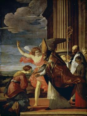 Saint Germanus of Auxerre and Saint Genevieve of Paris, 1630 by Laurent de La Hyre