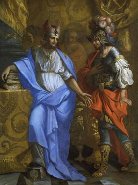The Meeting of Abraham and Melchizedek by Laurent de La Hyre