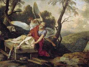 The Sacrifice of Isaac by Laurent de La Hyre