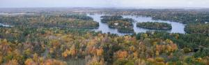 Thousand Islands, Ontario, Canada by Laurent Pinsard