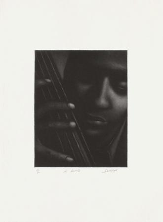 Le bassiste by Laurent Schkolnyk