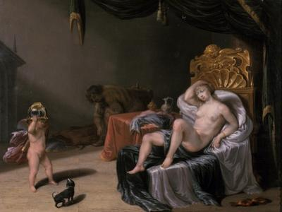 Mars and Venus with Cupid