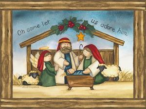 Come Let us Adore Him by Laurie Korsgaden
