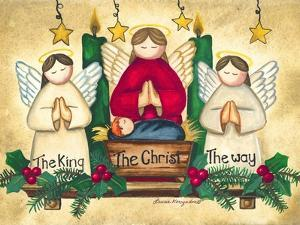 Praying Angels by Laurie Korsgaden