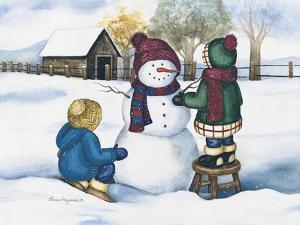 Snowmen by Laurie Korsgaden