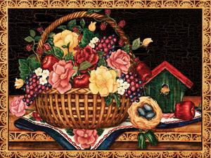 The Gift Basket by Laurie Korsgaden