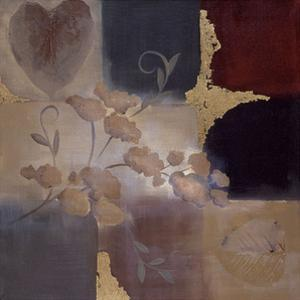 Autumn Accent Floral II by Laurie Maitland