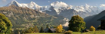 Lauterbrunnen Valley with Mt Eiger