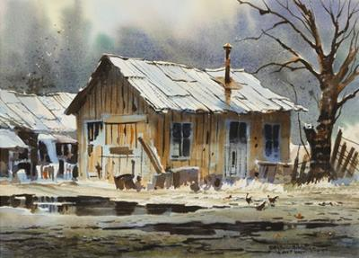 A Wet Day by LaVere Hutchings