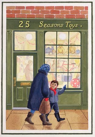 Christmas Shopping by Lavinia Hamer