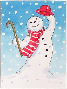 Dancing Snowman, 1996 by Lavinia Hamer
