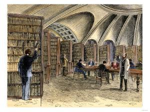 Law Library Within the Old Library of Congress, 1870s