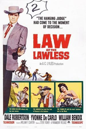 Law of the Lawless, 1964