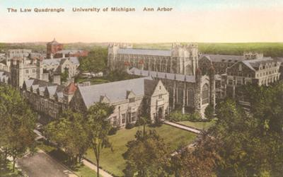 Law Quadrangle, University, Ann Arbor, Michigan