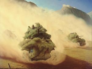 Tank Advance, Italy 1944, 1944 by Lawren Philips Harris