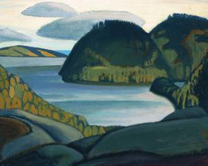 Coldwell Bay, North of Lake Superior by Lawren S. Harris