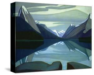 Maligne Lake, Jasper Park by Lawren S. Harris