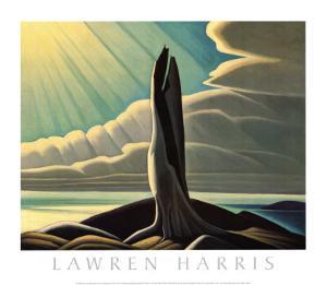 North Shore, Lake Superior by Lawren S^ Harris