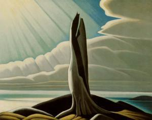 North Shore, Lake Superior by Lawren S. Harris