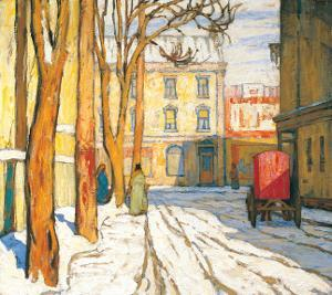 Toronto Street, Winter Morning by Lawren S. Harris