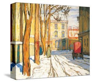 Toronto Street, Winter Morning by Lawren S. Harris