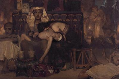 Death of the Pharaoh's Firstborn Son, 1872