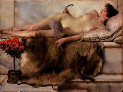 In the Tepidarium by Lawrence Alma-Tadema