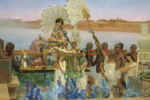 The Finding of Moses by Lawrence Alma-Tadema