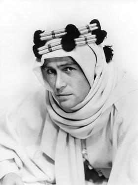Lawrence d'Arabie Lawrence of Arabia by David Lean with Peter O'Toole, 1962 (b/w photo)