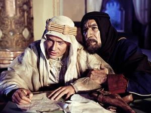 Lawrence d'Arabie LAWRENCE OF ARABIA by David Lean with Peter O'Toole and Anthony Quinn, 1962 Oscar