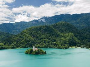 Lake Bled, Slovenia, Balkans, Europe by Lawrence Graham
