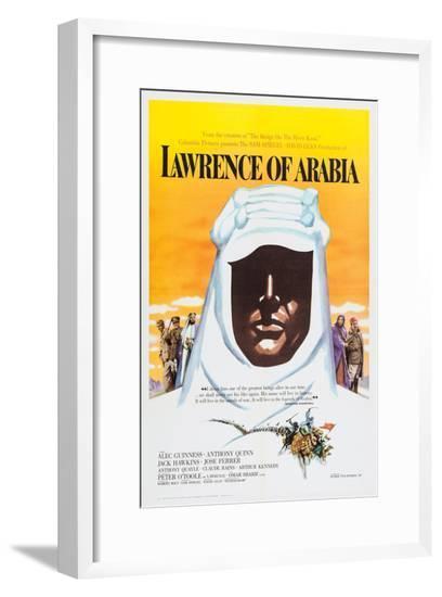 Lawrence of Arabia, 1962--Framed Giclee Print