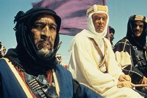 Lawrence of Arabia, Anthony Quinn, Peter O'Toole, Omar Sharif, 1962