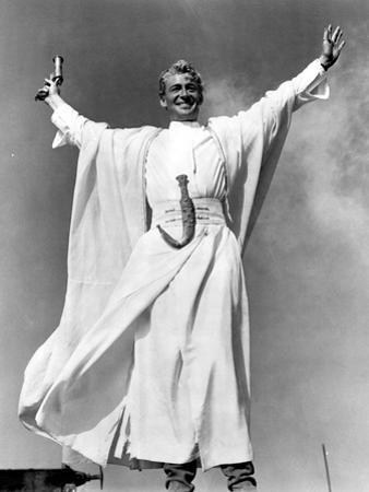 Lawrence of Arabia, Peter O'Toole, 1962, Victory Stance