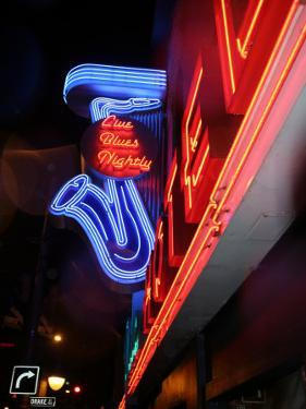Neon Sign for the Yale Hotel Blues Club, Vancouver, Canada by Lawrence Worcester