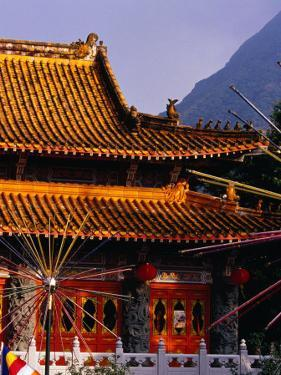 Po Lin Monastery, Lantau Island, Hong Kong, China by Lawrence Worcester