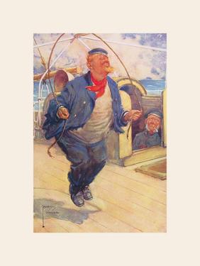 The Skipper by Lawson Wood