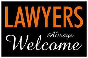 Lawyers Always Welcome