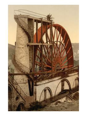 Laxey, the Wheel, Isle of Man, England